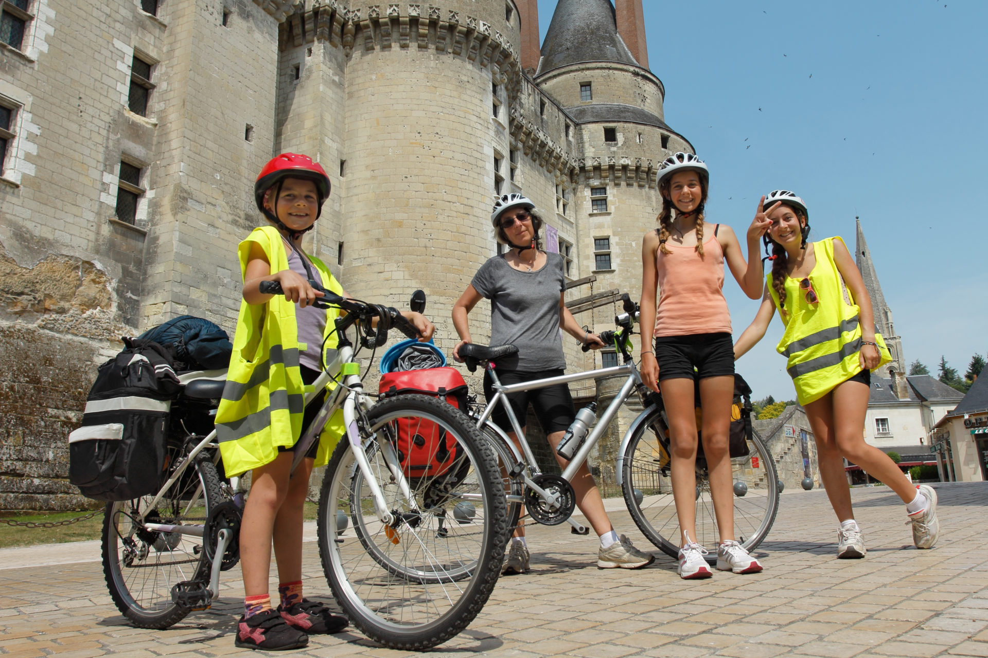 Chateaux de la Loire en velo